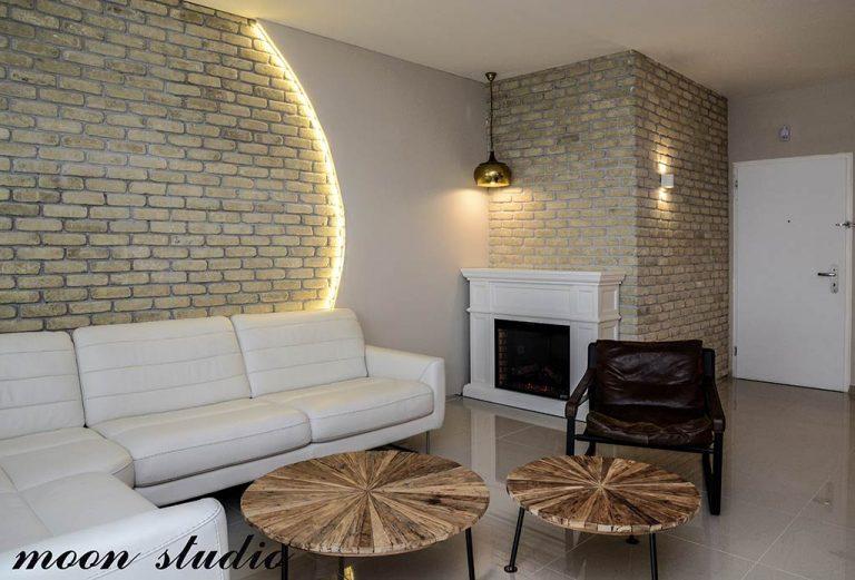עיצוב ותכנון דירה סטודיו מון